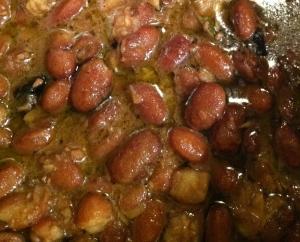 Garlicky Beans