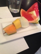 Complimentary Fruit Skewers